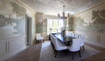 Fox Hunt Mural Dining Room