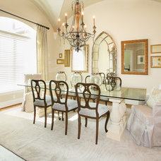 Traditional Dining Room by Maison Market