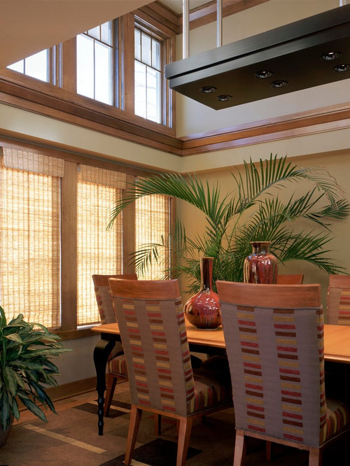 Tropical omaha dining room design ideas remodels photos for Tropical dining room
