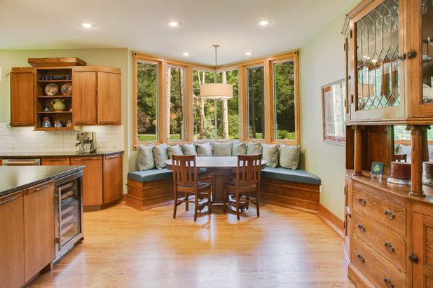 Craftsman Dining Room by SKP Design