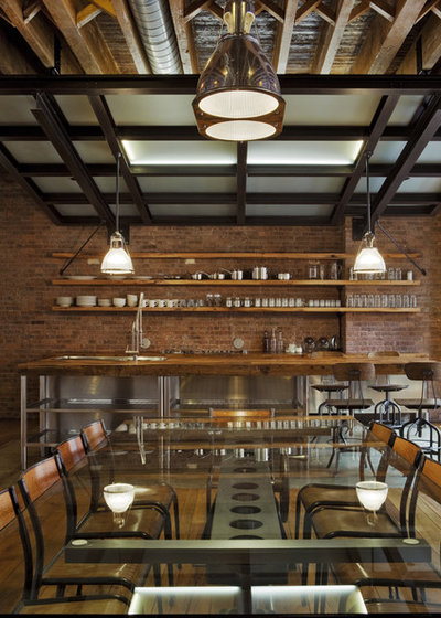 Industrial Comedor by Jane Kim Design