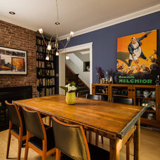 Contemporary Dining Room by Z+ Architects, LLC