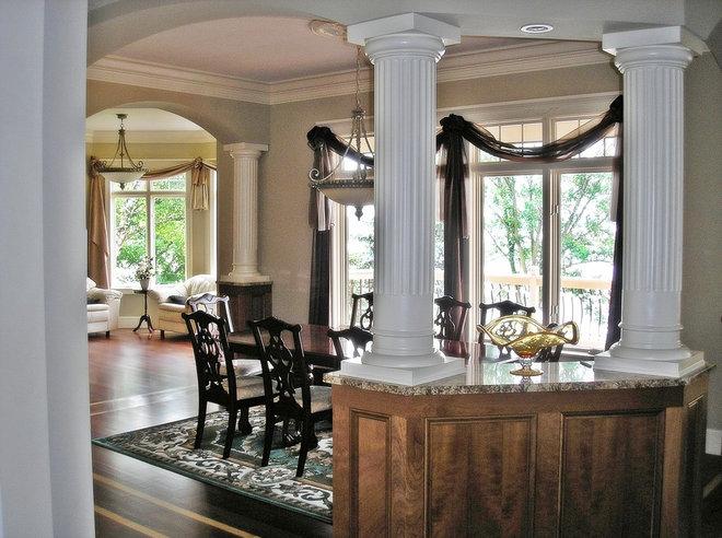 Traditional Dining Room by Minnetonka Custom Homes, Inc