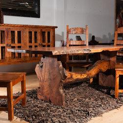 Freeform Mesquite 1 - La Casona Custom Furniture
