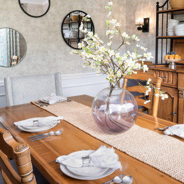 Freehold Modern Farmhouse Dining Room