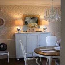 Traditional Dining Room French Country Dining Room by Linda Hilbrands
