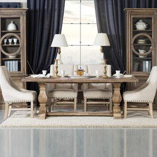 Dining room - traditional dining room idea in Dallas