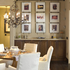 rustic dining room by Alan Mascord Design Associates Inc