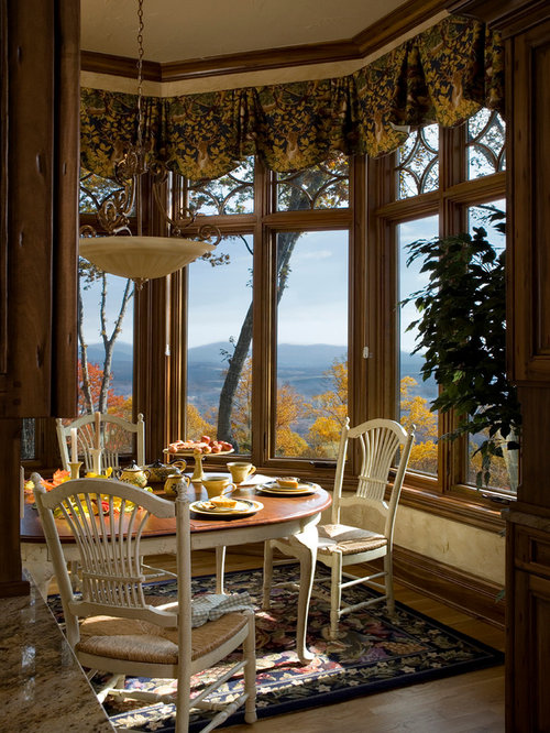 French Country Gothic Mountain Home