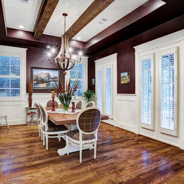 French Country in Garden Oaks - Closed Dining Room