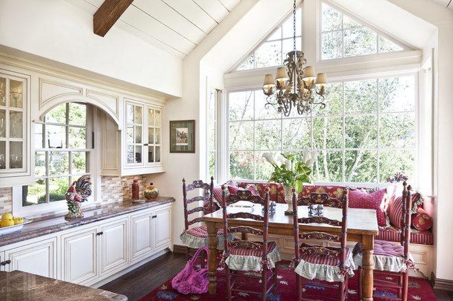 Traditional Kitchen by Joani Stewart-Georgi - Montana Ave. Interiors