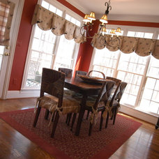 Traditional Dining Room by Robin's Nest Interiors