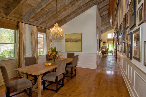 Traditional Dining Room by 38 Spatial, Inc.
