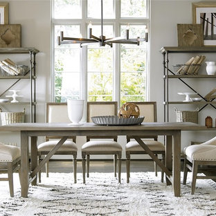 Inspiration for a country dining room remodel in Dallas