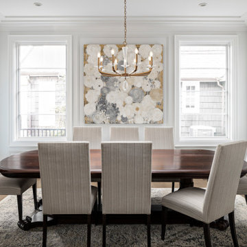 French Influences on an Urban Residence