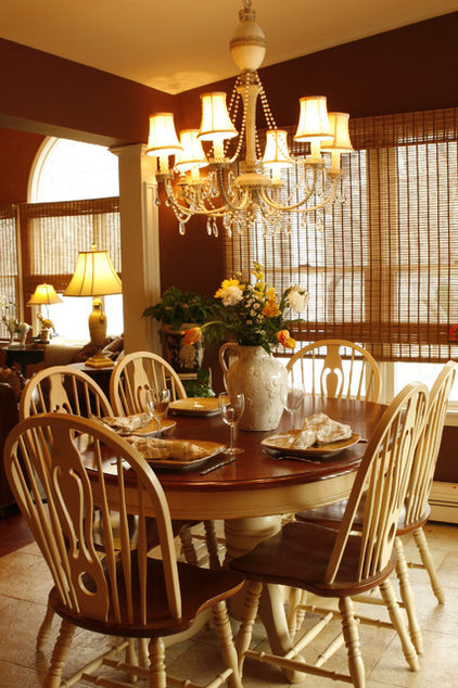 Traditional Dining Room by The Colorful Bee - Linda-Marie Leyble