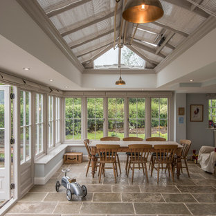 French Pinoleum Blinds in a David Salisbury Conservatory