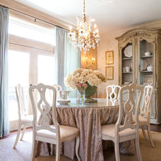 Traditional Dining Room by Dodson and Daughter Interior Design