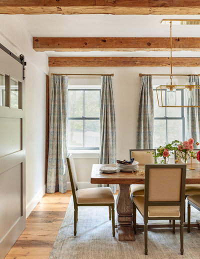 Country Dining Room by Jess Cooney Interiors
