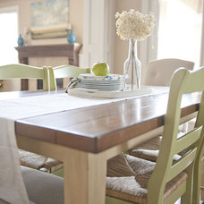 Traditional Dining Room by Sita Montgomery Interiors