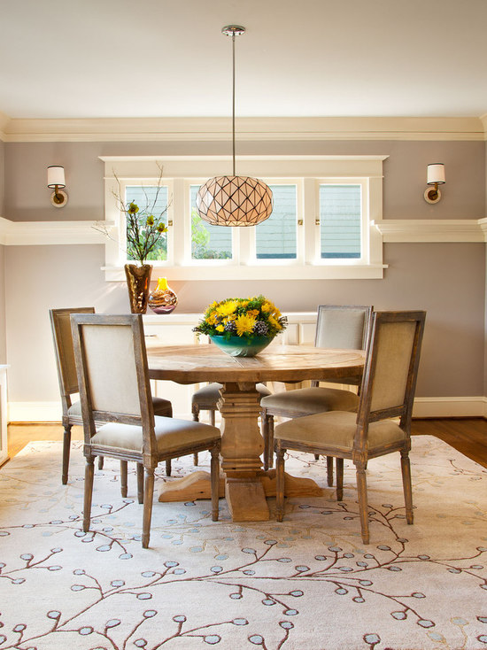 Round Dining Room Rugs Houzz