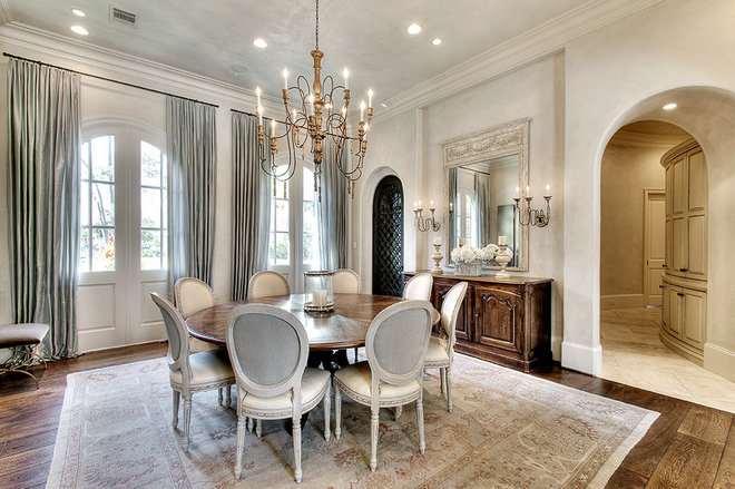Traditional Dining Room by Parker House Inc.