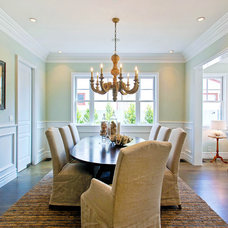 Traditional Dining Room by DTM INTERIORS