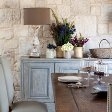 Farmhouse Dining Room by Dalgleish Construction Company