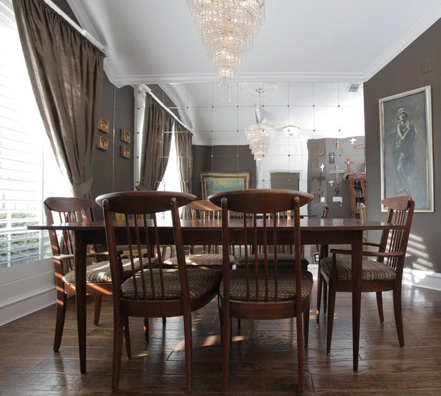 Great Eclectic Dining Room by Lindsay von Hagel