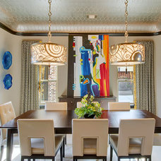 Modern Dining Room by Hensley Premier Builders