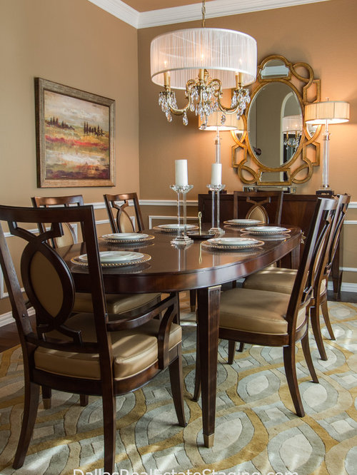 Transitional home neutral warm colors for Warm neutral paint colors for dining room