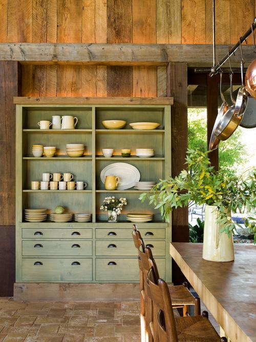 Built-in Kitchen Hutch | Houzz