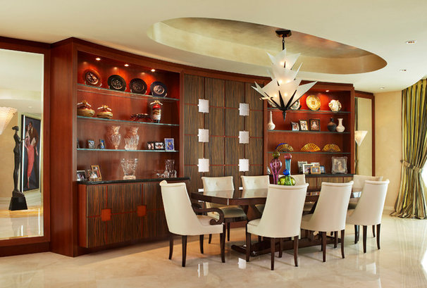 Modern Dining Room by Brantley Photography