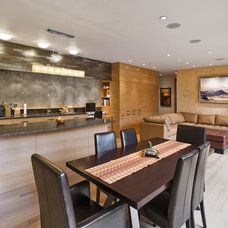 Contemporary Dining Room by Fulcrum Structural Engineering
