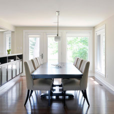 Contemporary Dining Room by Southam Design Inc