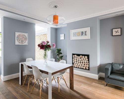 Dining room design ideas renovations photos with medium for Medium dining room ideas