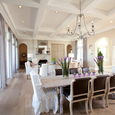Rustic Dining Room by Dodson Interiors