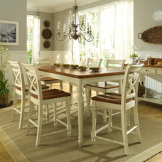 Farmhouse Dining Room fun on location