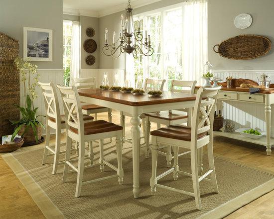 Dining Room Beadboard Wainscoting | Houzz