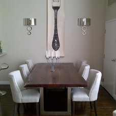 Contemporary Dining Room by Emily Griffin Design
