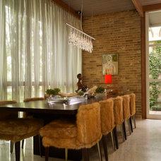 Midcentury Dining Room by Kisabeth Furniture