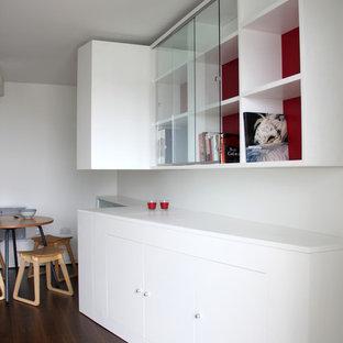 Dining room - contemporary dining room idea in Devon