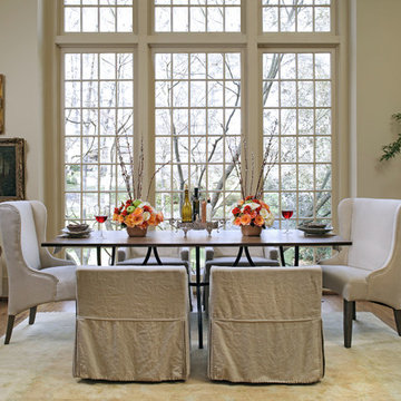 Gabby 6 Sophisticated: Transitional Dining Room