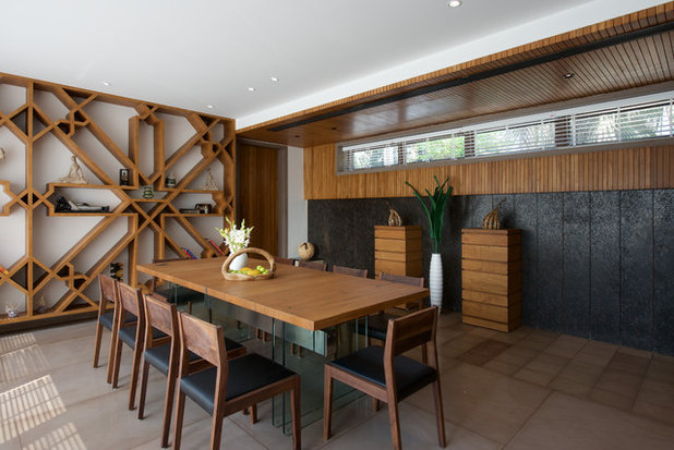 Asian Dining Room by B DESIGN 24 Studio