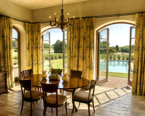 French Door Curtains Ideas Pictures Remodel and Decor – French Doors Dining Room