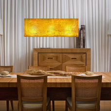 Contemporary Dining Room by Ohr Lighting