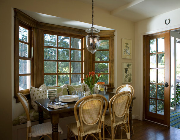Traditional Dining Room by Clark-Rae Design