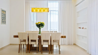 Galilee Lighting -modern rectangular glass chandeliers