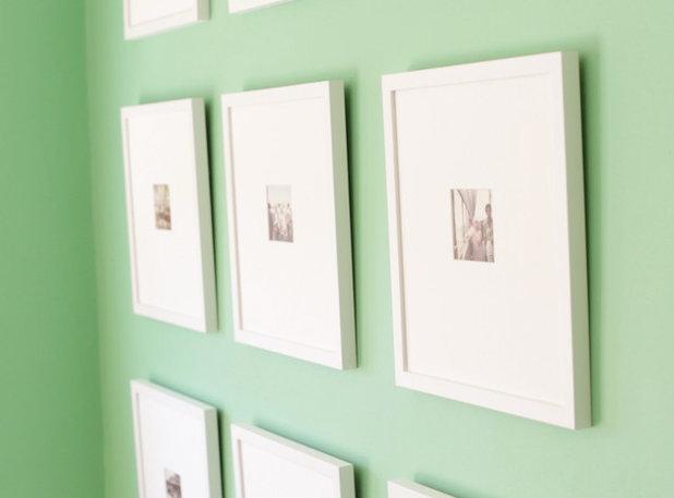 Minimalistisch Esszimmer by framed & matted