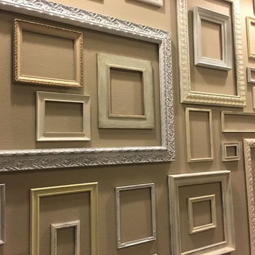 Gallery Wall of Picture Frames